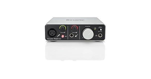 Amazon.com: Focusrite solo iTRACK Interfaz de audio USB ...