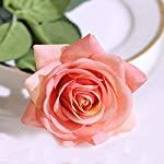 N-YONGNUO-12pcs-Latex-Moisturizing-Roses-of-Real-Touch-Natural-Artificial-Flowers-Open-Orange-Roses-Realistic-Color-for-WeddingHome-Decor-or-As-a-Gift-to-WifeMotherFriend19-Inch-Orange