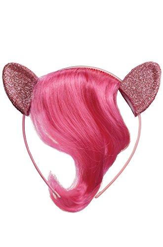 Pinkie Pie Child Movie Headpiece with Hair -