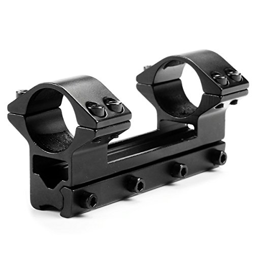 MIZUGIWA One Piece High Profile Magnum Airgun Scope Mount with Stop Pin