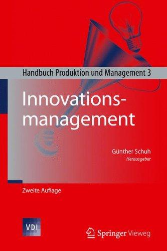 Innovationsmanagement: Handbuch Produktion und Management 3 (VDI-Buch)  (Tapa Dura)