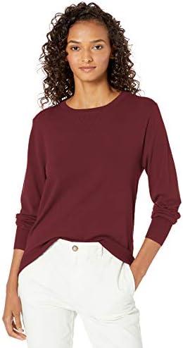 Amazon Brand – Daily Ritual Women's Fine Gauge Stretch Crewneck Pullover Sweater