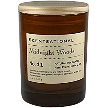 Scentsational Candle - Midnight Woods - Number 11 (Man Candle)