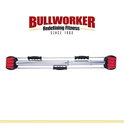 "Bullworker 36"" Bow Classic -Full Body Workout- Compact Home Gym Isometric Exercise Equipment for Fast Strength Training Gains. Cross Training Fitness; Chest, Back, Arms, and Abs Exercise Machine"
