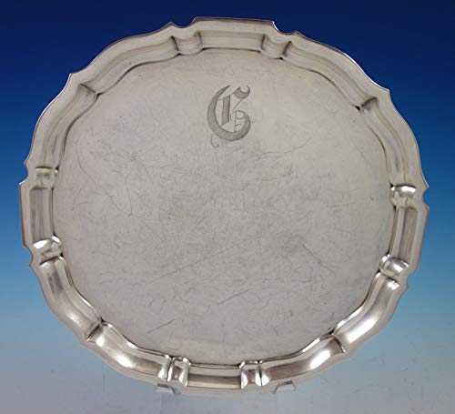 Chippendale by Gorham Sterling Silver Tray Round #42612 12