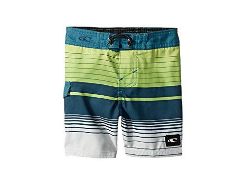 O'Neill Kids Baby Boy's Lennox Swim Shorts (Toddler/Little Kids) Lime ()