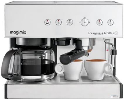 Magimix Espresso & Filtre Automatic - Cafetera (Independiente ...