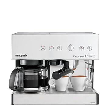 0bf3a8f9e2395 Magimix 11423 Expresso et filtre automatique cafetière pour café moulu ou  dosette