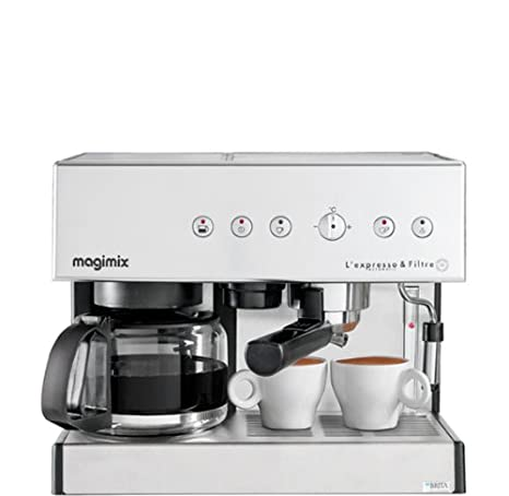 Magimix Espresso & Filtre Automatic Independiente - Cafetera ...