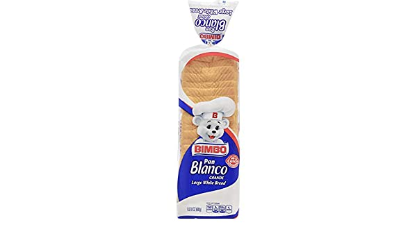 Bimbo Large White Bread, Pan Blanco Grande, 24 oz: Amazon.com: Grocery & Gourmet Food