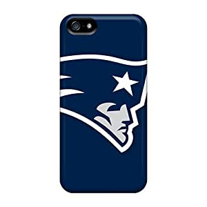 Iphone 5/5s Cases Slim [ultra Fit] New England Patriots Logo Protective Cases Covers