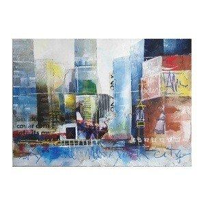 Sterling Industries 146-006 39'' Alberto De SerafinoNew York City Iii Canvas Wall Art, Multi-Color Finish