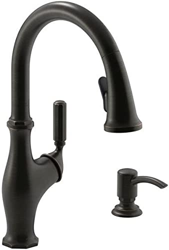 Kohler Worth Pull-Down Kitchen Faucet