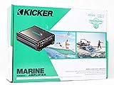 Kicker KMA600.1 600 Watt Weather-Resistant Mono