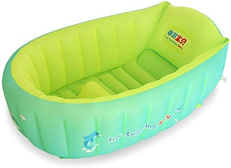BATHTUPA Arena Piscina Hinchable – Bath SoftTub de bebé (Piscina ...
