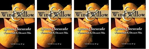 Wind & Willow Lemon Cheesecake Cheeseball and Dessert Mix (4 Pack) Lemon Cheesecake Ingredients