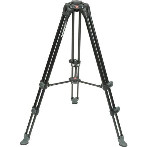 ideo Tripod with Telescopic Twin Legs (Black) (Manfrotto Video Monitor)