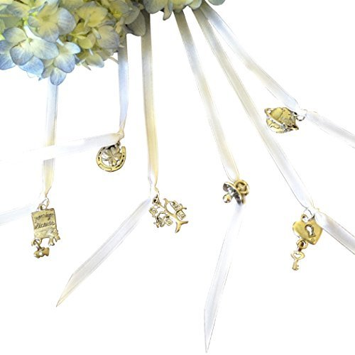 (Set of 6 Wedding Cake Pulls for Bridesmaid)