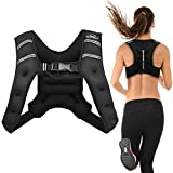 Aduro Sport Weighted Vest Workout Equipment, 4lbs/6lbs/12lbs/20lbs/25lbs Body Weight Vest for Men, Women, Kids (6 Pounds...
