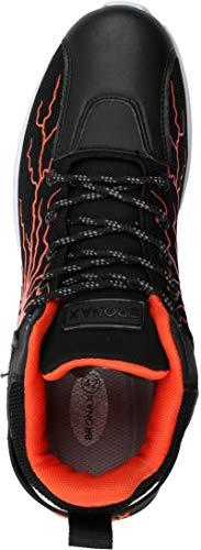 BRONAX Men's Lightning Design Fashion Sneakers