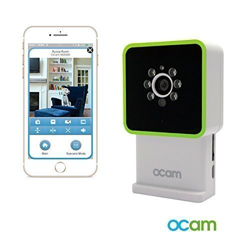 OCam-M3 Wi-Fi Wireless Baby Monitor Security Video Camera & Nanny Cam DVR iPhone iPad iOS Android AHOKU Electronic OCam-M2+