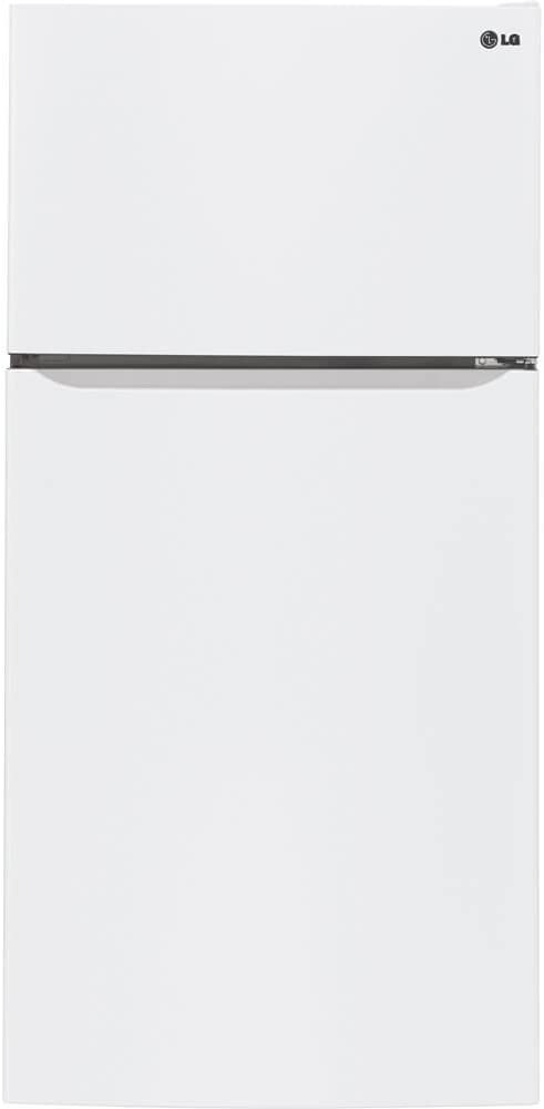 LG LTCS24223W 23.8 Cu. Ft. White Top Freezer Refrigerator-Energy Star
