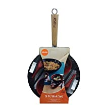 9 Piece Non-Stick Cookware Set