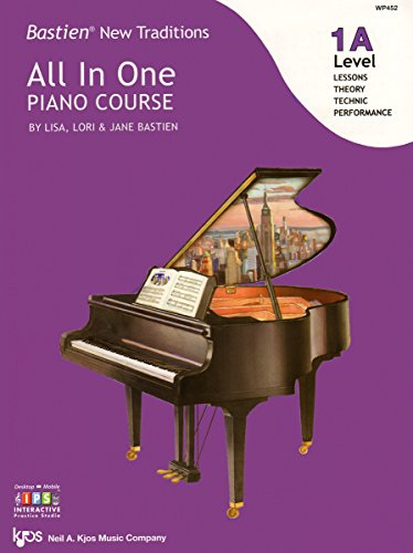 WP452 - Bastien New Traditions - All In One Piano Course - Level ()