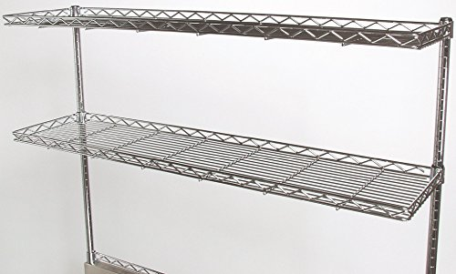 Tarrison CS1248C Chrome Work Centre Cantilever Shelf, 48
