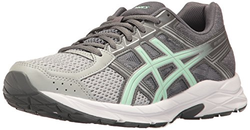 (ASICS Women's Gel-Contend 4 Running Shoe, Mid Grey/Glacier Sea/Silver, 10 M US)