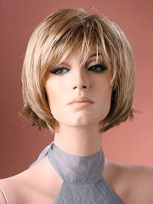 Forever Young Perruque pour femme Blond Naturel cou vous Irez Bob Style Perruque