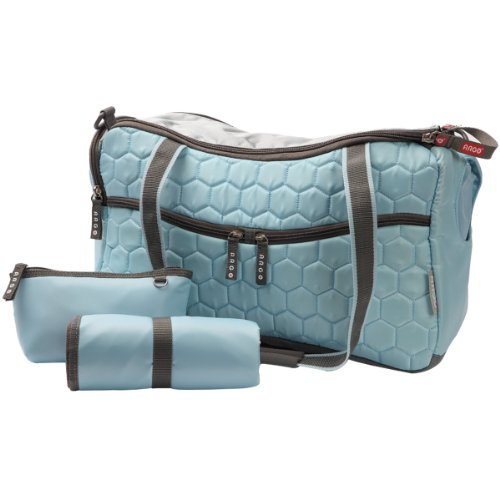 Blue Netbook Fitting - Teafco Argo Momster Diaper Bag, Medium, Maldives Blue