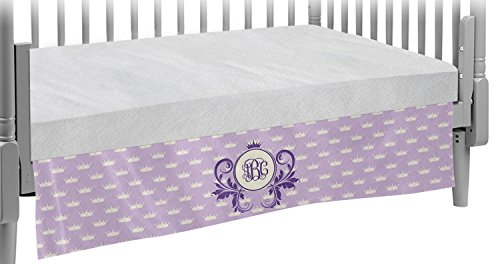 Custom Character (Woman) Crib Skirt (Personalized) by RNK Shops