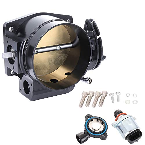 OCPTY 92mm New Electric Throttle Body Replace S20036 Fuel Injection Throttle Body Assembly fit for LSX LS LS1 LS2 LS7 1993-2002 Chevrolet Camaro, 1995-2002 Pontiac Firebird