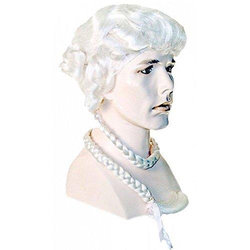 Ichabod Crane Costume - Ichabod Crane Colonial Wig