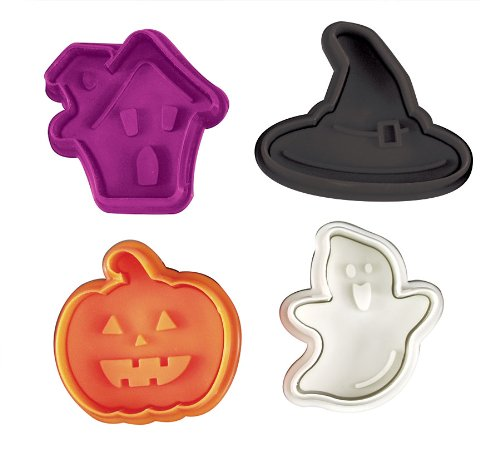 (Fox Run Brands 67065 Halloween Fondant Plunger cutters, 2 x 5 x 6 inches,)
