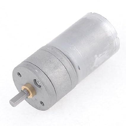 eDealMax 12VDC 800 rpm eléctrico de gran alcance del esfuerzo de torsión de caja de cambios