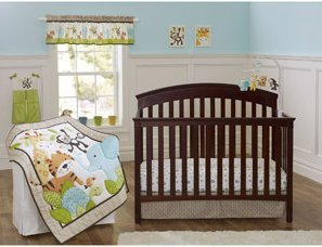 Garanimals Tribal Tales 3-Piece Crib Bedding Set by Garanimals