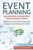 Event Planning: Management & Marketing For