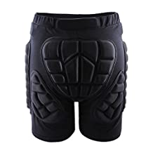 West Biking 3D Padded Shorts Protective Hip Butt Pad Ski Skate Snowboard Skating Skiing Hockey Riding Impact Protection Drop Resistance Roller Derby Compression Pants XXL
