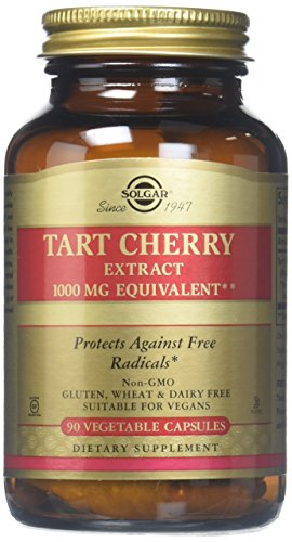 Solgar -Tart Cherry 1000 Mg, 90 Vegetable Capsules