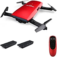 GoolRC T47 6-Axis Gyro WIFI FPV 720P HD Camera Quadcopter Foldable G-sensor RC Selfie Drone RTF One Extra Battery