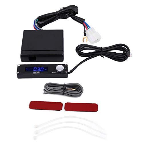 - KIMISS Universal Auto Turbo Timer Device Parking Time Retarder Digital LED 41001-AK009((Blue Light))