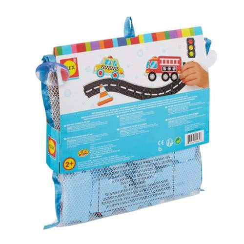 Alex Bath Beep Beep Stickers in The Tub Bath Toy Kids Bath Activity - http://coolthings.us