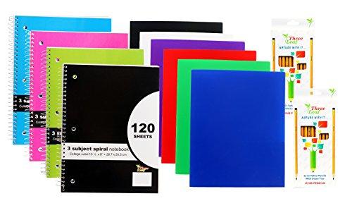 ly Portfolio Folders - 4-Pack 10½