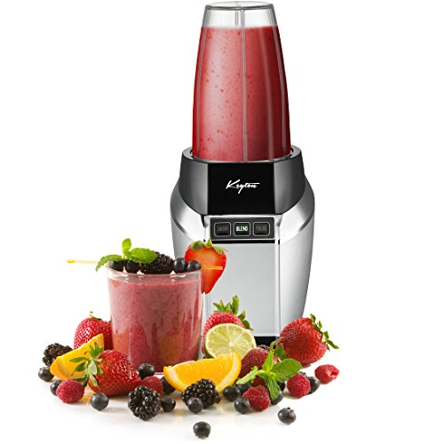 Personal Blender With Travel Lid - Super Powerful 1,000 watt motor! - 20 oz and 24 oz Portable...