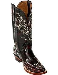 Ferrini Womens Cherry Wild Diva Cowgirl Boot Square Toe - 8267108