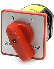 HZ53-L03380vac 20A 4KW on/off rastenden giratorio Cam Conmutador