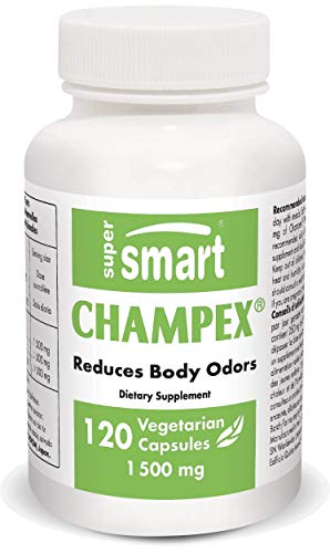 Supersmart – Champex 1,500 mg Per Day – Detox & Bad Breath – Agaricus Bisporus Extract, Powerful Detoxifier & Internal…