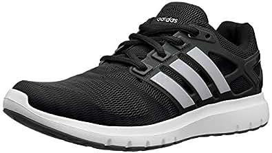adidas Women's Energy Cloud V Running Shoe (7.5 B(M) US, Core Black/Matte Silver/Carbon)